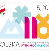 Poczta Polska: znaczki z okazji Igrzysk Olimpijskich w PyeongChang 2018