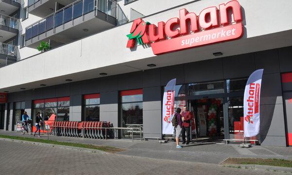 Auchan Supermarket Światowida fot.1.JPG