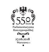 Poczta Polska wprowadziła znaczek na jubileusz Parlamentu