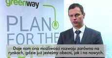 Peter Badik - Umowa z EBI pozwala na ozszerzenie dzialalności GreenWay na kraje Bałtyckie.mov