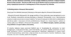 Informacja prasowa_Browary Warszawskie staną się jedną z największych przestrzeni co-workingowych w Polsce.pdf