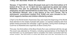 press release_They ran across Wola for Autism.pdf