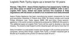 press release_Logistic Park Tychy signs up a tenant for 10 years.pdf