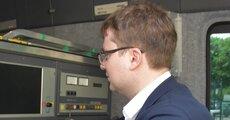 Wnętrze wozu pogotowia energetycznego w Gdyni.JPG