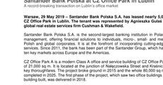 Press release_Santander Bank Polska at CZ Office Park in Lublin.pdf