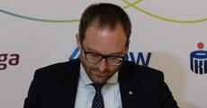 Prezes Marek Dietl, giełda Papierów Wartościowych.JPG