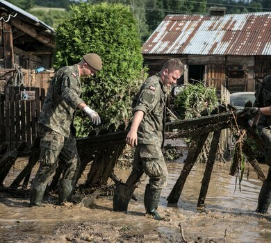 Ciąg dalszy działań pomocowych WOT na lubelszczyźnie