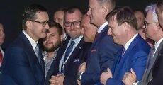 Premier RP Mateusz Morawiecki i p_o_ prezesa zarządu Energi SA Grzegorz Ksepko.jpg