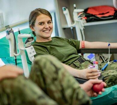 Krwioobieg podsumowanie czerwcowej akcji zbiórki krwi w WOT