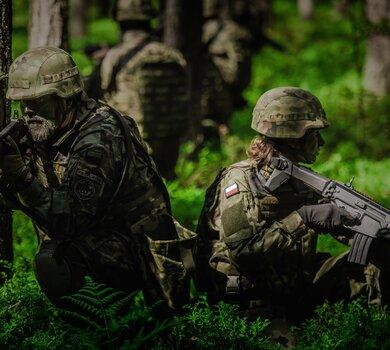 Szkolenie żołnierzy WOT