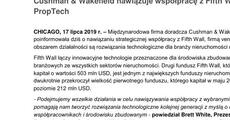 Informacja prasowa_Cushman & Wakefield nawiązuje współpracę z Fifth Wall z branży PropTech.pdf