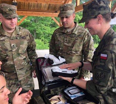 Gotowi do zabezpieczenia polskich harcerzy