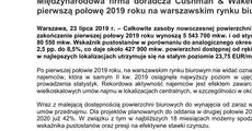 Informacja prasowa_Międzynarodowa firma doradcza Cushman & Wakefield podsumowuje pierwszą połowę 2019 roku na warszawskim rynku biurowym.pdf