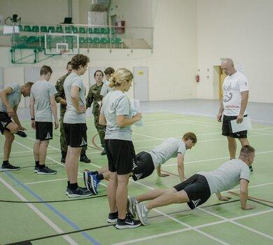 Test wejściowy sprawności fizycznej do Wojsk Obrony Terytorialnej