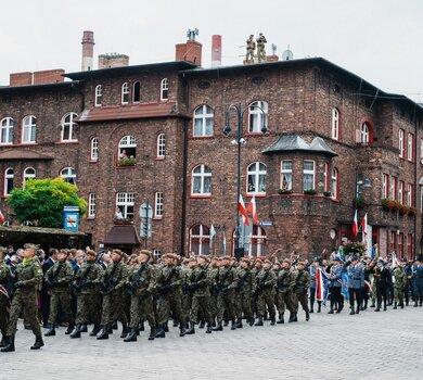 Wyjątkowa przysięga śląskich Terytorialsów
