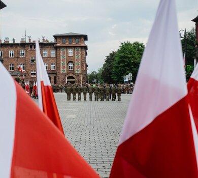 Przysięga 13ŚBOT m. Katowice - 16.08.2019