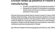 Ericsson Tczew Poland investment.pdf