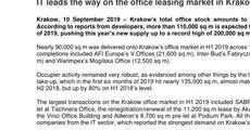 press release_IT leads the way on the office leasing market in Krakow.pdf