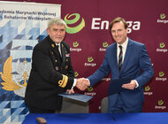 Energa podpisała porozumienie z Akademią Marynarki Wojennej [ mat. wideo ]