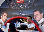 Gotowy do startu –  nowy symulator lotu linii Emirates w centrum handlowym Dubai Mall