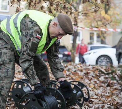 Pomocna energia czyli ćwiczenia 13ŚBOT w Częstochowie