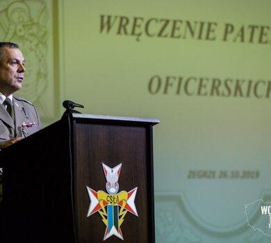 Patenty oficerskie dla żołnierzy WOT