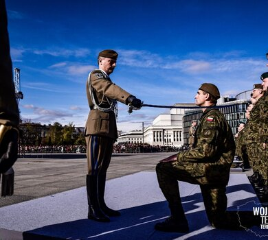 Promocja oficerska żołnierzy OT - absolwentów kursu AGRYKOLA