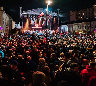 Gramy dla Niepodległej - Festiwal Niepodległa - fot. Tomasz Tołłoczko