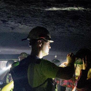 Pracownicy ZUS w kopalni ZG Rudna