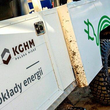Sokół 4x4 - elektryczne auto KGHM