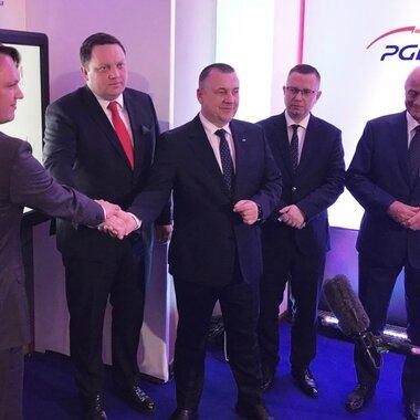 Podpisanie listu intencyjnego w sprawie współpracy PGE i KGHM ws. OZE