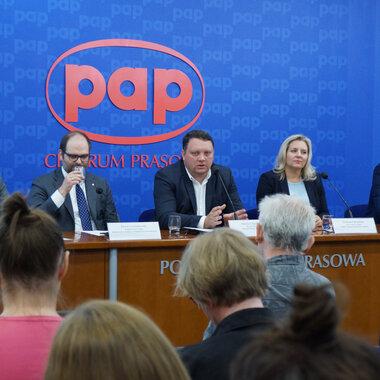 Ambasador Polski - konferencja prasowa