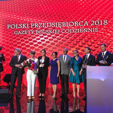Polski Przedsiębiorca 2018 Gazety Polskiej Codzienne - laureaci