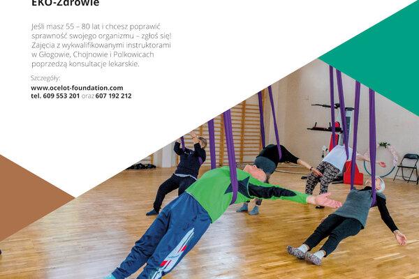 EKO-Zdrowie cykl zajęć gimnastyki rekreacyjnej dla seniorów