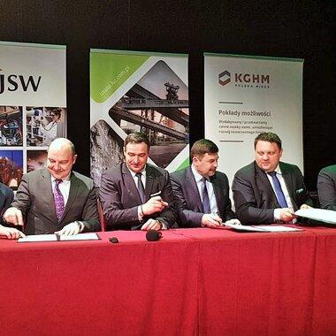 Porozumienie JSW, KGHM i LW Bogdanka