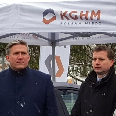 KGHM and TAURON have launched electric car charging point