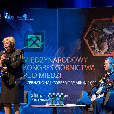 Professor Monika Hardygóra and Paweł Markowski