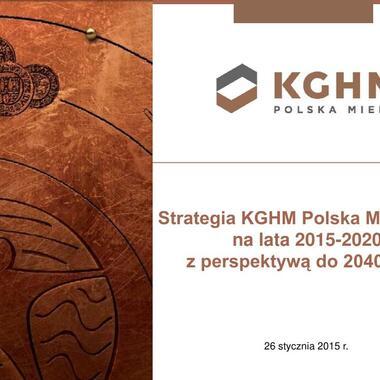 KGHM Strategia 2015-2020