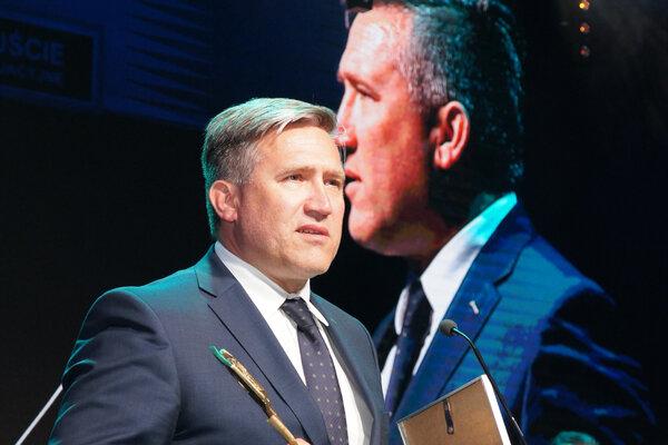 KGHM Lider Bezpieczeństwa Technicznego, Nagrodę odbiera wiceprezes ds. produkcji Radosław Stach