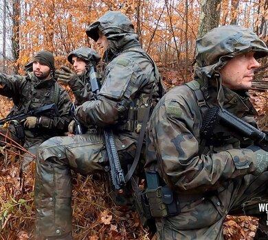 Żołnierze WOT podczas ćwiczenia Ridge Runner