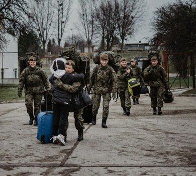Giżycko - przysięga żołnierzy 4WMBOT