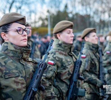 Zgierz - przysięga żołnierzy 9ŁBOT