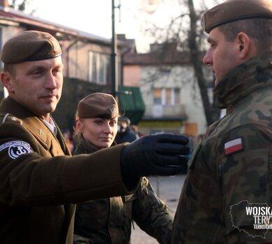 Przysięga i promocja podoficerska żołnierzy 2 Lubelskiej Brygady OT