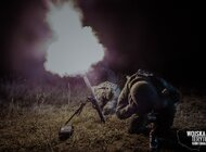 Terytorialsi strzelali z lekkich moździerzy