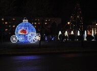 Bożonarodzeniowa iluminacja rozświetliła Piłę