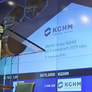 Wyniki Grupy KGHM po 9 miesiącach 2019 r