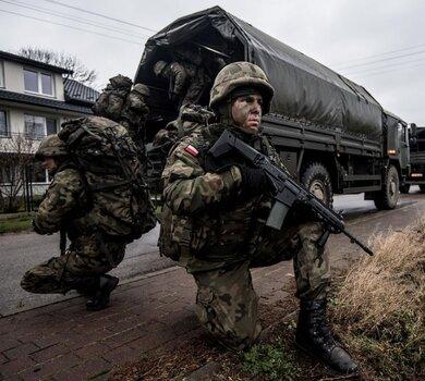 Szkolenie żołnierzy WOT w gm. Repki