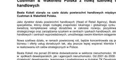 informacja prasowa_Cushman & Wakefield Polska z nową szefową działu powierzchni handlowych .pdf