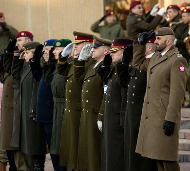 Udział delegacji WOT w święcie KASP
