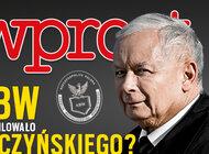 """""""Wprost"""" (5) ABW inwigilowało Kaczyńskiego? Operacja specjalna, obserwacja, podsłuchy, czyli tajemnicze śledztwo krakowskiej prokuratury."""